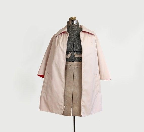 vintage cape - 1970s coat - khaki cape coat - rain coat medium Black Friday Cyber Monday