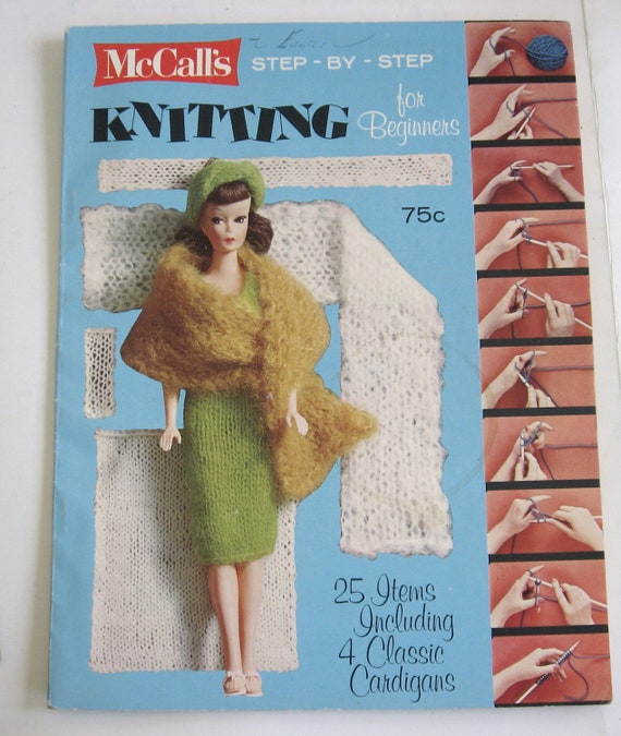 step by step knitting instructions for beginners