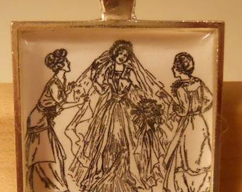Betsy's Wedding Pendant