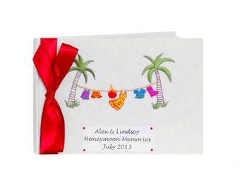 Personalised Tropical Honeymoon Journal