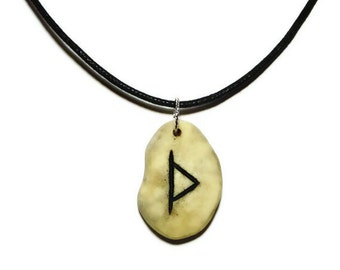 Thurisaz Bone Rune Necklace