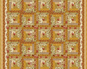 """VIENNA WOODS - 62.5"""" - Quilt-Addicts Pre-cut Quilt Kit or Finished Quilt Double size"""