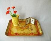 Vintage Paper Mache Tray Japan