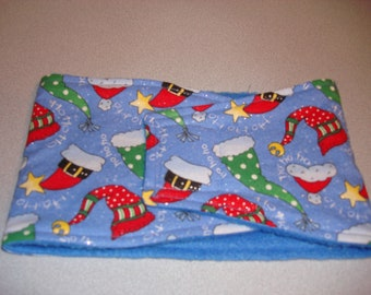 Ho Ho Ho/Christmas Hats - Male Dog Diaper - Dog Belly Band - Available in all Sizes