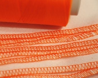 Paper Free Reusable Towels - set of 12 Bright Orange