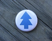 Dipper Pines - Hat Logo - Gravity Falls - 1 inch Pin Back Button