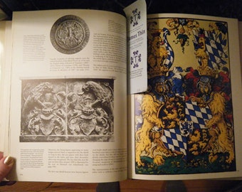 Heraldry- Sources, Symbols and Meaning, Research Text Book, McGraw Hill, the definative text for most English royalty research, Full Color