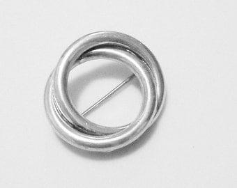 Vintage JEWEL ART Circular Pin