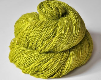 Blooming acorn - Tussah Silk Fingering Yarn
