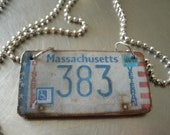 custom license plate jewelry