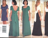 Butterick 4776 Donna Ricco Gown and Dress Sewing Pattern Uncut Bust 34-38 Inches Size 12-14-16