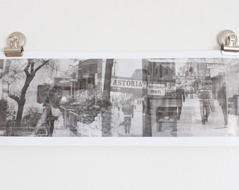 30th Ave Astoria Queens NYC Photo Collage Poster
