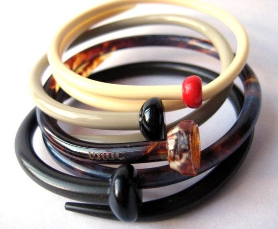 Knitting Needle Bracelets Autumn SMALL/MED