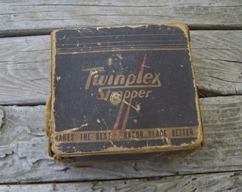 Vintage Razor blade sharpener...1930's to 40's