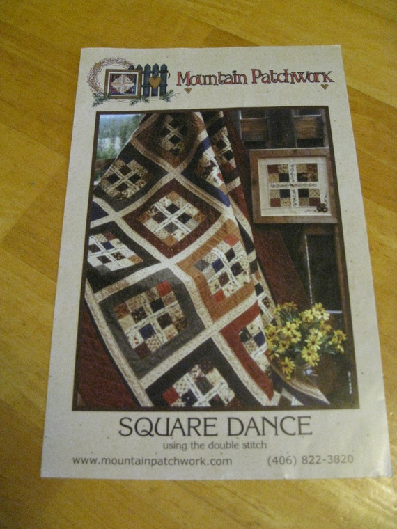 Quilt Pattern, Square Dance by Mountain Patchwork