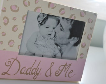 DADDY N ME Handpainted Picture Frame for Baby