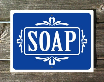 Popular Items For Soap Sign On Etsy