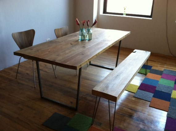 Reclaimed wood industrial modern styled Brooklyn