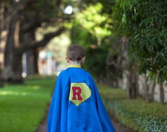 Super Hero Kid Cape