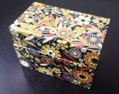 Vintage J. Chein & Co Floral Metal Box