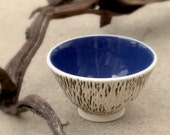 Seascape - a small carved bowl.