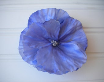 Blue Morning Glory Brooch