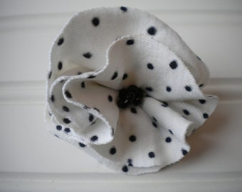 Polka Dot Cloth Rosette