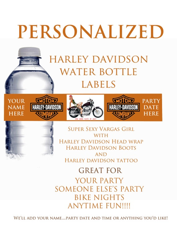 items similar to printable diy personalized harley