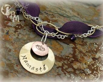 Stamped Inspirations - Namaste