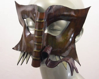 Book Beast Leather Mask