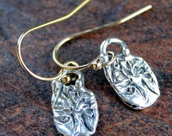 Tree of Life Earrings Sterling Silver