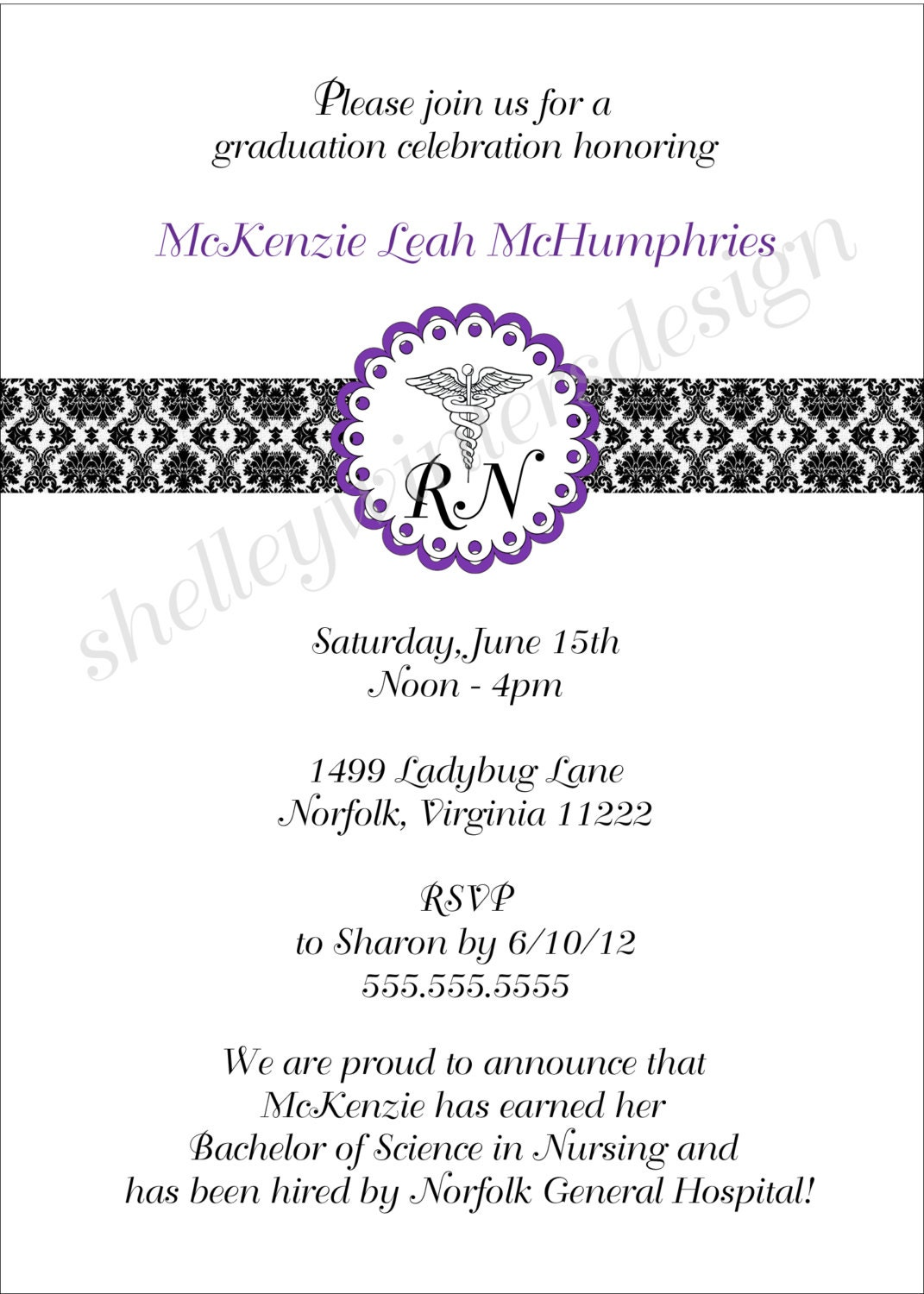 Nurse Graduation Invitations for good invitation ideas