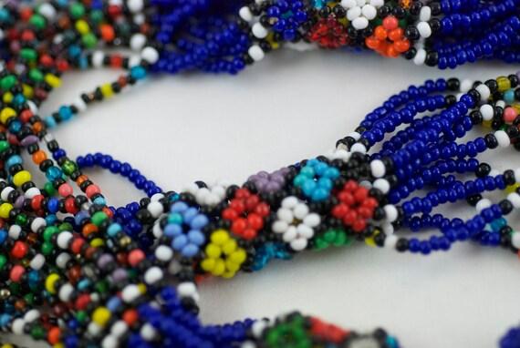 Sale Vintage Flower Power Hippie Necklace  .....1486