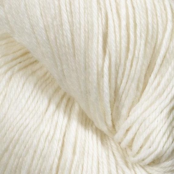100g 400y of Undyed Superwash Wool Sock Yarn