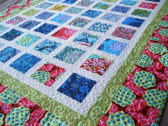 Simply CAMEO by AMY BUTLER 54x68 sofa quilt