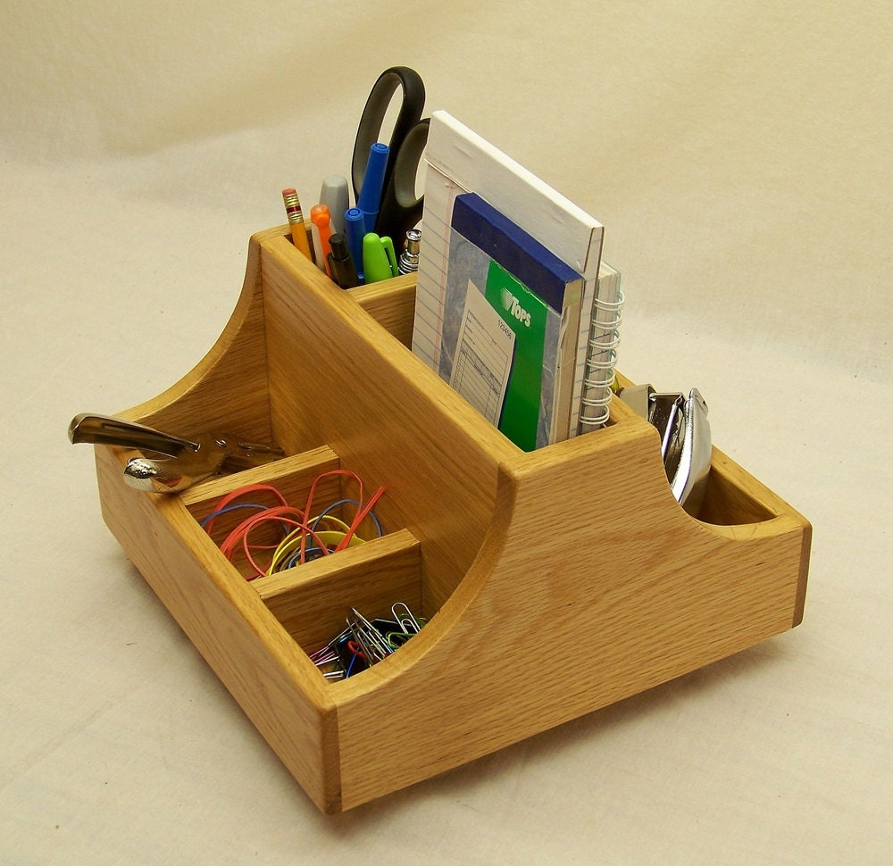 Items Similar To Office Desk Caddy Pen And Pencil Holder