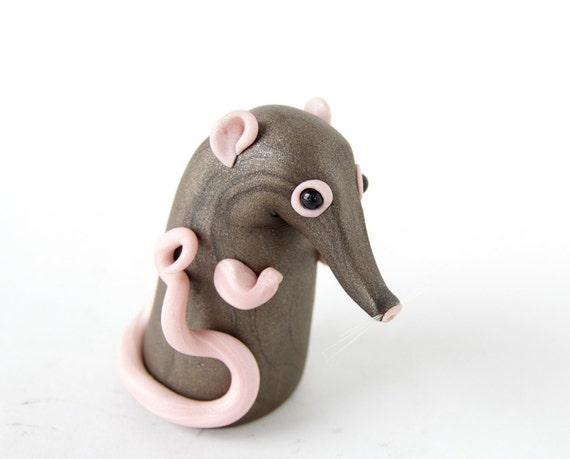Sengi Shrew Figurine by Bonjour Poupette