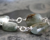 FallCollection - Gorgeous Aquamarine, Gemstone Bracelet, Sterling Silver, Luxe Jewelry, Accessories, Gift for Her