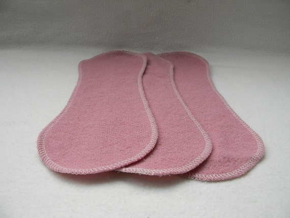 Upcycled Wool Diaper Doubler Wool Liner Wool Insert For Cloth Diapering Set Of Three
