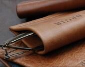 Eyeglasses Case // Handmade by Garvan de Bruir // Made in Ireland // Perfect Gift for Christmas // Eyewear