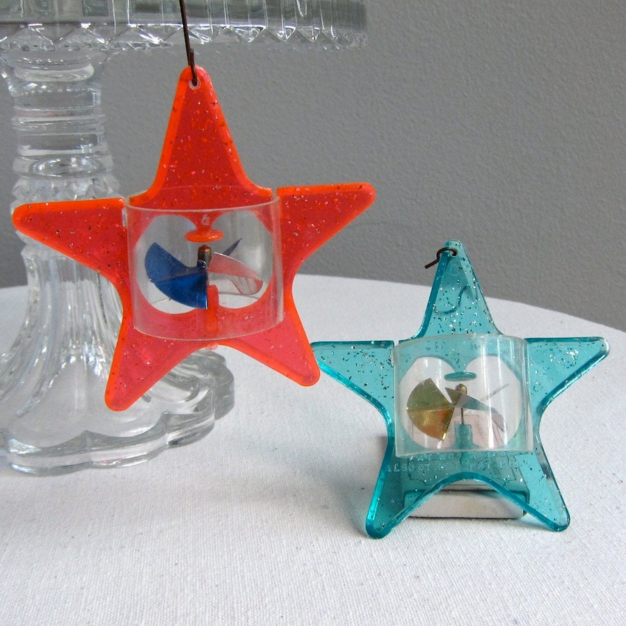 Vintage Star Spinner Christmas Ornaments by ...