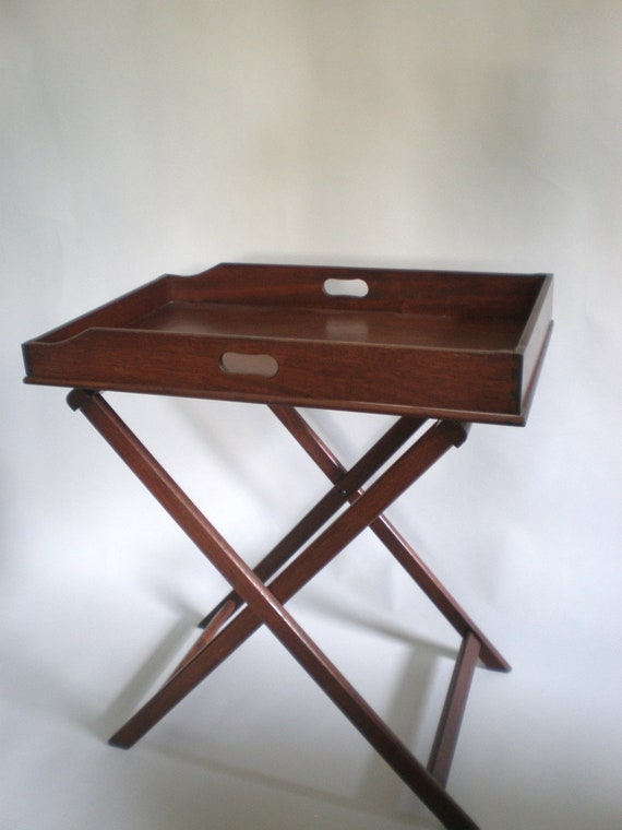 Butlers Tray Table / 20th Century