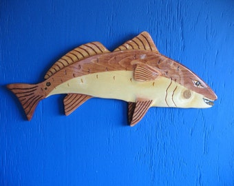 Fish Redfish (red drum)Wall Plaque, Wall Hanging
