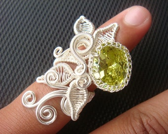 Wire Jewelry Tutorial - Kinar Ring