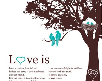 Family Tree, Personalized Valentines Gift for Her Family Tree Wedding Anniversary Gift Paper Valentines Day gift for wife, gift for her