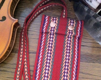 Metis Arrow Sash Microfleece Pouch with Strap