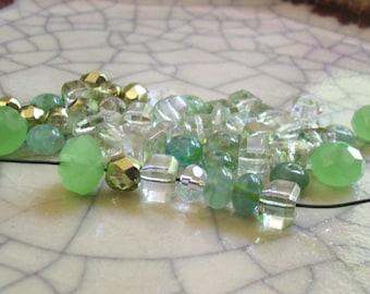 Mojito Ice - Bead Mix - 50 beads