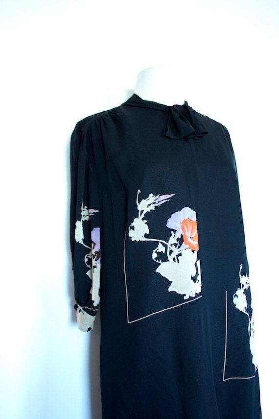 Vintage 1960s FRANK USHER Oriental Dress