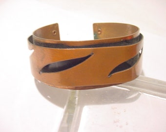 Vintage Copper Cuff Bracelet    12 - 405