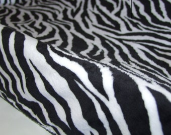 Zebra Minky Change Pad Cover- Jungle Cover- Minky Change Pad Cover- Black White Changing Pad- Zebra Nursery- Ships in 1-2 Days